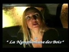 Dehors en pleine nuit une française se fait baiser